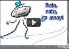 Song: Rain, rain, go away | Recurso educativo 38379
