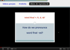 American English pronunciation (videos) | Recurso educativo 48290