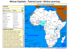 Game: African capitals | Recurso educativo 49580