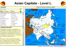 Asian capitals | Recurso educativo 49700