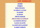 Los animales | Recurso educativo 50246