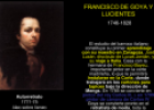 Francisco de Goya y Lucientes | Recurso educativo 60835