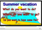 Video: Summer vacation | Recurso educativo 11790