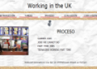 Webquest: Working in the UK | Recurso educativo 13211