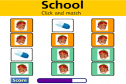 School objects (memory game) | Recurso educativo 21532