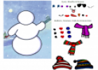 Dress the snowman | Recurso educativo 24778