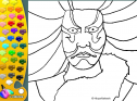 ¡A Colorear!: Kabuki | Recurso educativo 27408