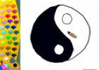 ¡A Colorear!: Yin yang | Recurso educativo 27499