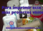 Reciclar materiales para manualidades | Recurso educativo 67010