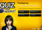 Thanksgiving quiz | Recurso educativo 67469