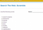 Search the web: Scramble | Recurso educativo 69009