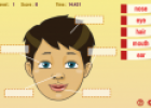 Body parts labelling game | Recurso educativo 72567