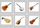 Musical instruments picture chart | Recurso educativo 79114