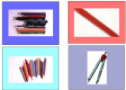School supplies picture chart | Recurso educativo 79286