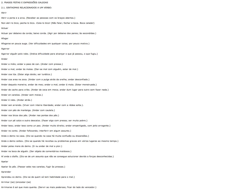 Algumas Frases Feitas Do Galego Recurso Educativo 88379