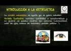 (Estadística) - Introducción a la Estadística Descriptiva unidimensional | Recurso educativo 107384