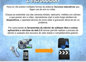 Edición de Vídeo y Audio con software libre (I) | Gabit | Recurso educativo 113316