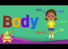 Kids vocabulary - Body - parts of body - Learn English for kids - English | Recurso educativo 763797