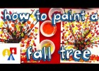 How To Paint an Autumn Tree | Recurso educativo 772708