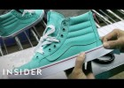 How Vans trainers are made | Recurso educativo 777885